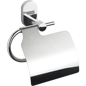 Держатель для туалетной бумаги Fora BRASS с крышкой