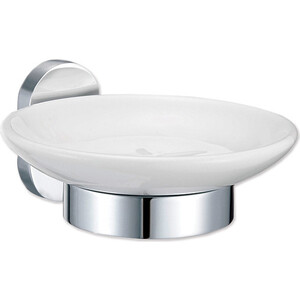 Мыльница Fora BRASS для ванной, керамическая