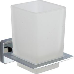 Стакан Fora STYLE стеклянный матовый для ванной