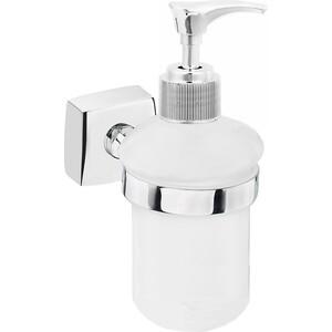 Дозатор Fora Keiz для жидкого мыла стеклянный матовый настенный