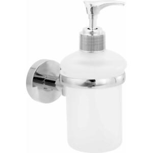 Дозатор для жидкого мыла Fora Long стеклянный настенный