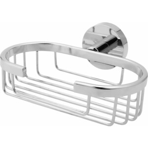 Мыльница Fora Long металлическая решетчатая