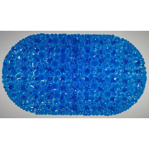 Фото - SPA-коврик Fora Линза 67*38см синий линза