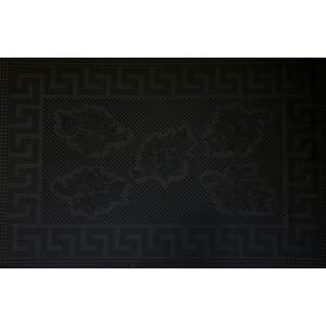 цена на Коврик Fora черный придверный Клён 40*60см
