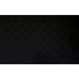 Коврик Fora черный придверный Ромбы 40*60см