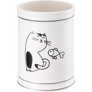 Стакан для ванной комнаты Fora Happy Cats настольный керамика
