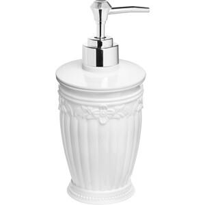 Дозатор Fora Elegance для жидкого мыла настольный белый