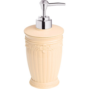 Дозатор Fora Elegance для жидкого мыла настольный бежевый
