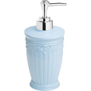 Дозатор Fora Elegance для жидкого мыла настольный голубой