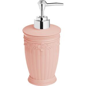 Дозатор Fora Elegance для жидкого мыла настольный розовый