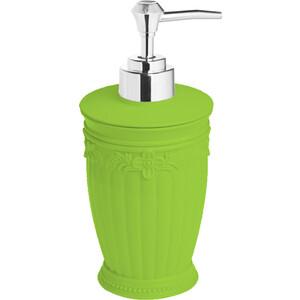 Дозатор Fora Elegance для жидкого мыла настольный зелёный