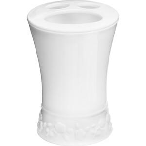 Стакан для ванной комнаты Fora Venice зубных щёток настольный белый