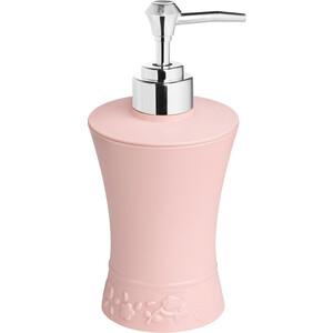 Дозатор Fora Venice для жидкого мыла настольный розовый