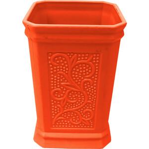 Стакан для ванной комнаты Fora London настольный оранжевый