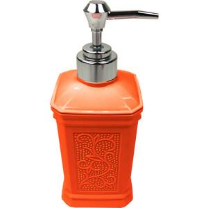 Дозатор Fora London для жидкого мыла настольный оранжевый