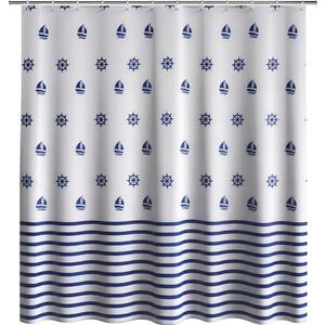 Шторка Fora Royal Navy для ванной комнаты шторка для ванной creative bath seaside s1211mult