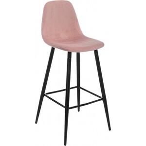 Барный стул Woodville Lada розовый