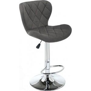 Барный стул Woodville Porch dark grey fabric