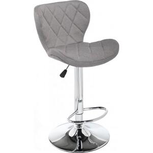 Барный стул Woodville Porch grey fabric