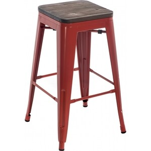 Барный стул Woodville Tolix Bar wood CColl T-2103B-26 red/brown walnut