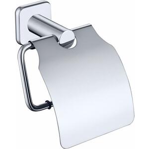 Держатель туалетной бумаги Kaiser Vera с крышкой, хром (KH-1700)