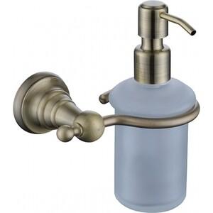 Дозатор для жидкого мыла Kaiser Arno настенный, бронза (KH-4210)
