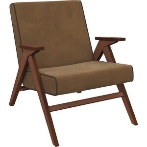 цена на Кресло для отдыха Мебель Импэкс Вест орех ткань Verona brown, кант Verona wenge