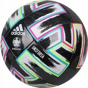 цена на Мяч футбольный Adidas UNIFORIA Training арт. FP9745, р.5, 18п,ТПУ, маш.сш, черно-бело-зелено-сине-розовый