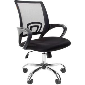 Офисное кресло Chairman 696 TW черный хром цена 2017