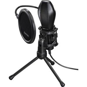 Микрофон проводной HAMA Stream 2м black