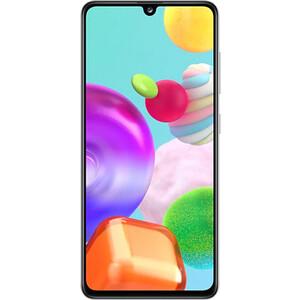 Смартфон Samsung Galaxy A41 4/64Gb White (SM-A415FZWMSER) смартфон samsung galaxy s9 sm g965f 64gb бургунди