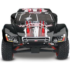 Радиоуправляемая машина TRAXXAS Slash 1:16 4WD TQ Fast Charger Black - TRA70054-1-B