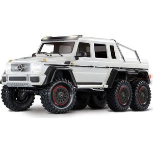 Радиоуправляемая машина TRAXXAS TRX-6 Mercedes-Benz G 63 AMG 6x6 White - TRA88096-4-W цена 2017