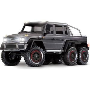 Радиоуправляемая машина TRAXXAS TRX-6 Mercedes-Benz G 63 AMG 6x6 Silver - TRA88096-4-S