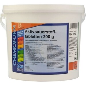Аквабланк О2 Chemoform 0592005 Таблетки (200 г) 5 кг