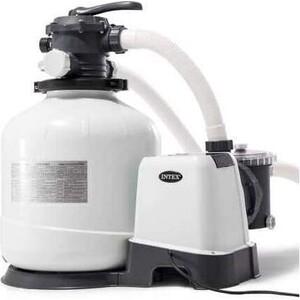 Хлоргенератор Intex 26676 (система морской воды) с песочным фильтр-насосом 6000л/ч для бассейна до 32м3