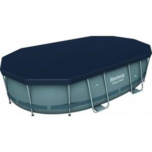 Тент Bestway 58425 BW для овальных каркасных бассейнов 427 х 250 100 см ПВХ