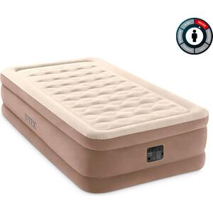 Надувная кровать Intex 64426 Ultra Plush Bed 99х191х46 см встроенный насос 220V