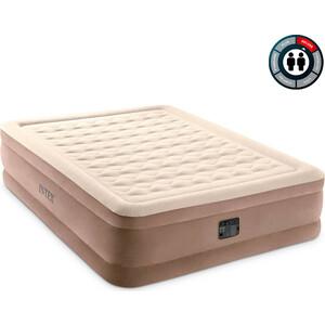 Надувная кровать Intex 64428 Ultra Plush Bed 152х203х46 см встроенный насос 220V