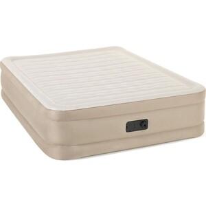 Надувная кровать Bestway 69050 BW Fortech Airbed 203x152x46 см встроенный электронасос матрас fortech 203х152х25см