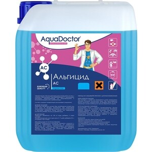 АЛЬГИЦИД AquaDoctor AQ3210 НЕПЕНЯЩИЙСЯ 10л канистра жидкость для борьбы с водорослями