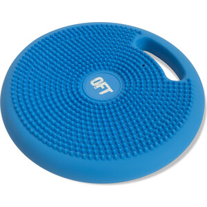 Массажно-балансировочная подушка Original FitTools с ручкой синяя