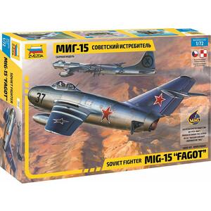 цена на Сборная модель Звезда Советский истребитель МиГ - 15, 1/72 - ZV - 7317
