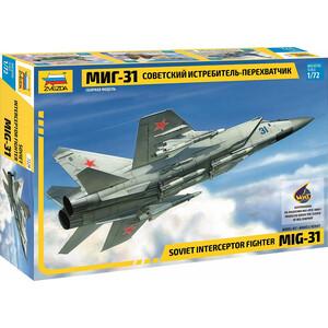 цена на Сборная модель Звезда Советский истребитель - перехватчик МиГ - 31, 1/72 - ZV - 7229