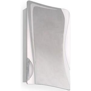 Зеркальный шкаф Raval Folle 50 белый с подсветкой (Fol.03.50/W)