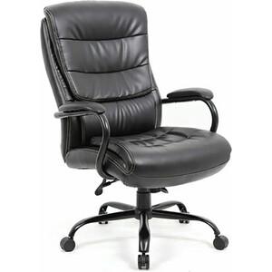 Кресло офисное Brabix Heavy Duty HD-004 экокожа черное Premium 531942