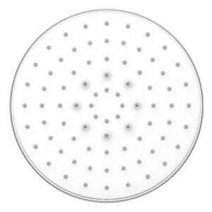 Верхний душ Kaiser стационарный, круглый, белый (SH-380) argo музыкальный верхний душ sound белый оранж