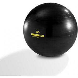 Гимнастический мяч ZIVA 75 см с насосом черный