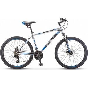 цена на Велосипед Stels Navigator 500 MD F010 26 (2019) 16 серебристый/синий
