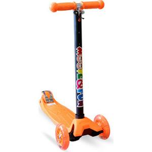 Самокат четырехколесный Moove&Fun MAXI PU, оранжевый